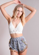 Courtney Crochet Top
