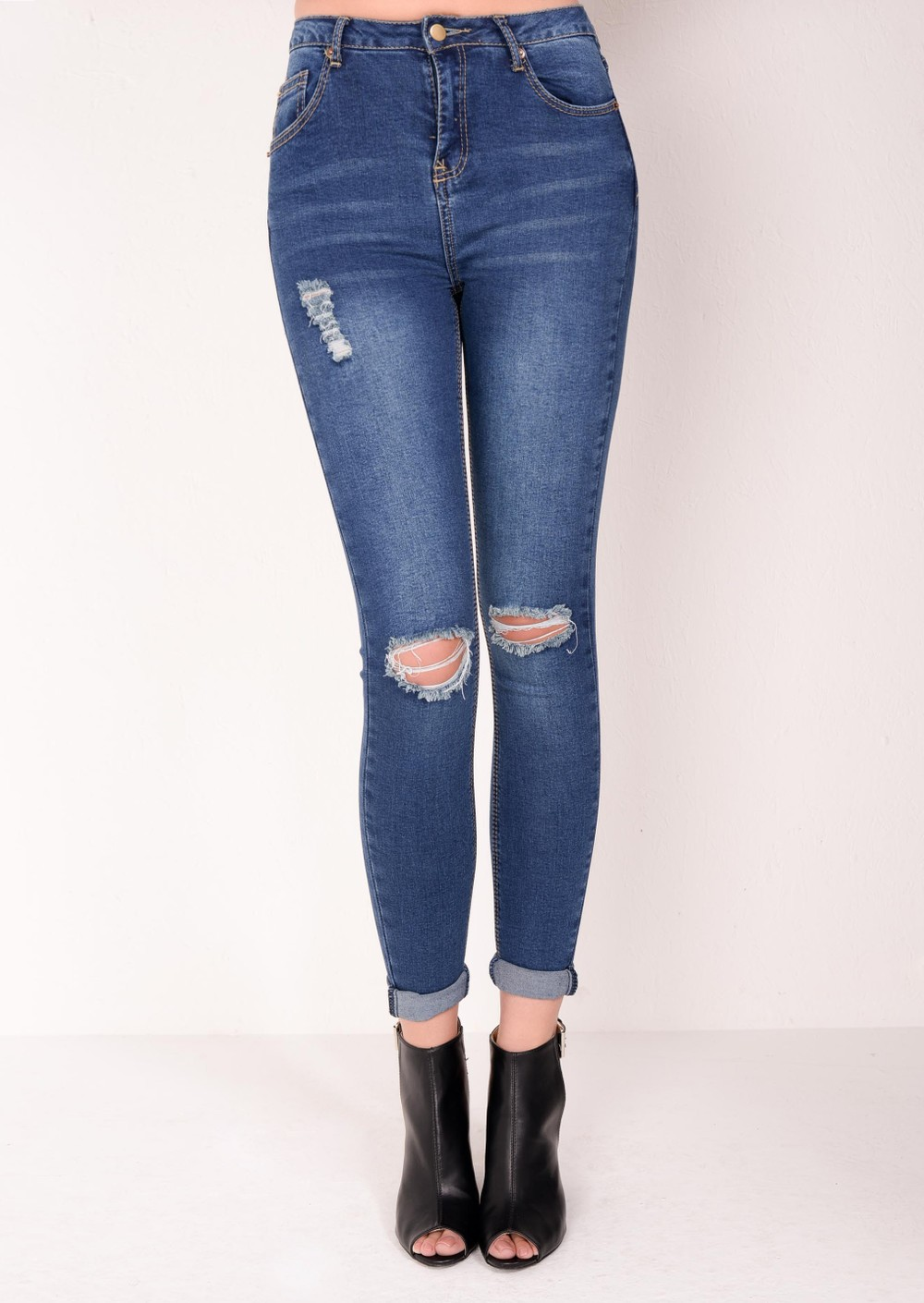 Find great deals on eBay for ripped jeans high waisted. Shop with confidence.