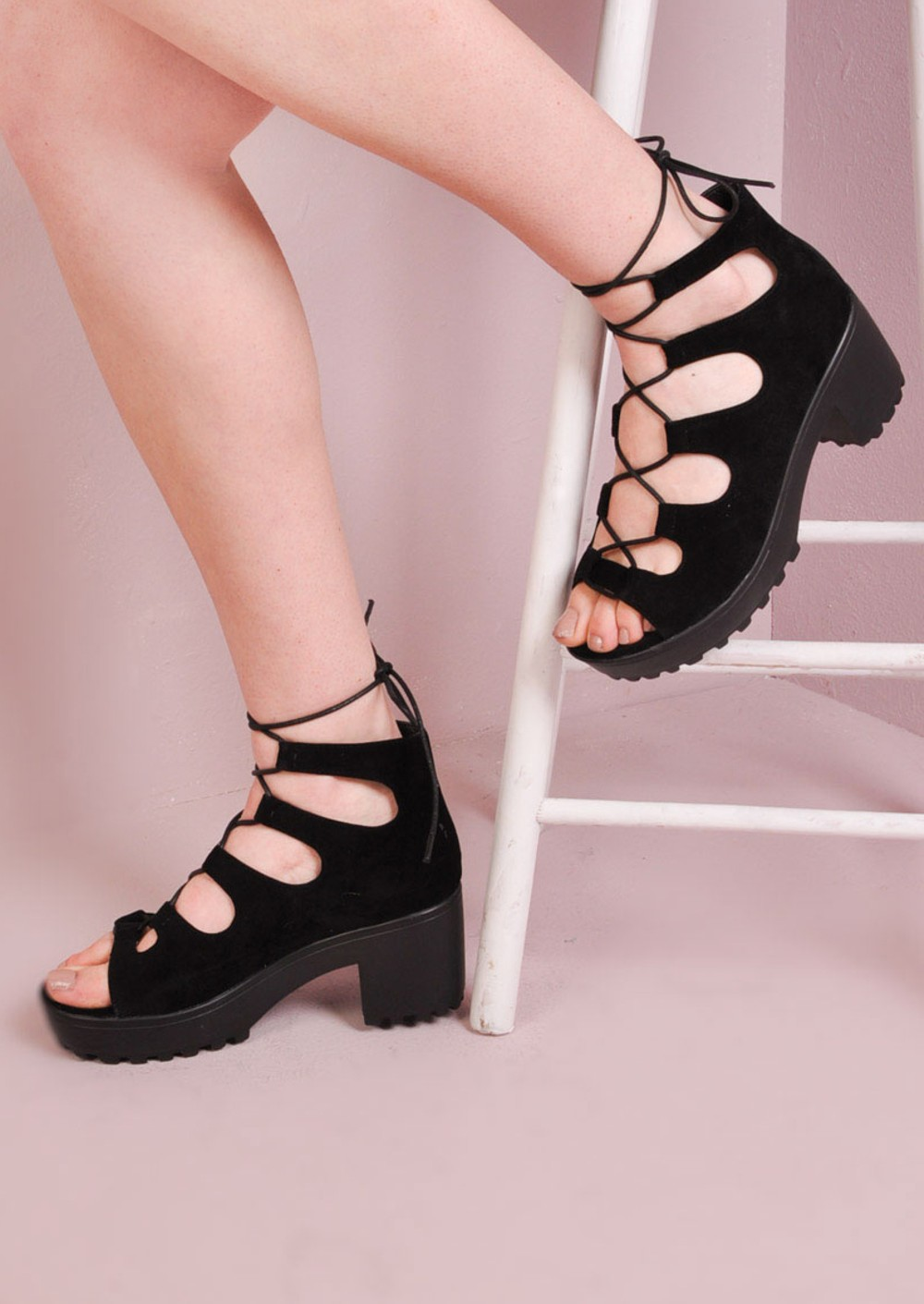 Black sandals chunky - Black Sandals Chunky 30