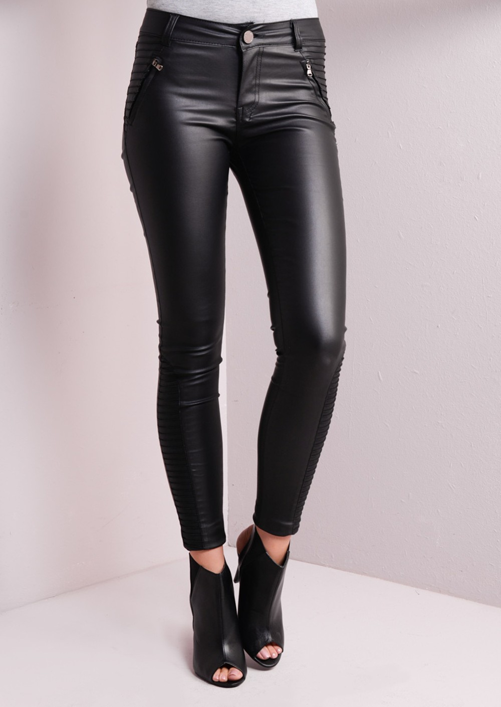 Wholesale Mens Skinny Leather Pants