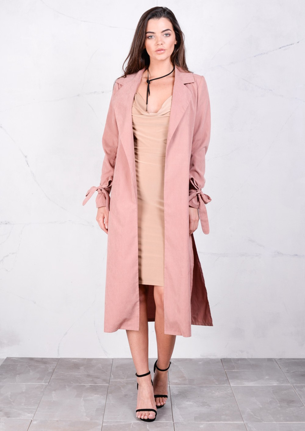 Rose Pink Coat | Fashion Women's Coat 2017