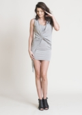 Aria Bodycon Knot Dress