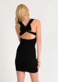 Maddy Bodycon Cross Back Dress