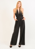 Mandy Halterneck Jumpsuit Black