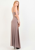 Meme Cut Out Maxi Dress With Bodysuit