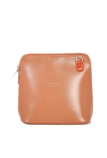 Mini Leather Shoulder Bag With Removable Straps Tan