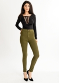 Neri Khaki High Waisted Jeans