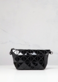 Geometric Triangle Clutch Prism Black