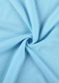 Halterneck Front Cut Out Colour Blocked Ribbed Mini Dress Multi