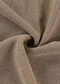 Halterneck Open Back Ruched Drawstring Detail Mini Dress Beige