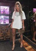 High Waisted Diamante Fishnet Legging Trousers Black