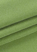 High Waisted Elasticated Waist Band Flared Trousers Green