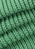 Knitted Bandeau Multi Wrap Crop Top Beige