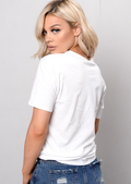 Slogan T-Shirt White