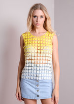 Becky Ombre Crochet Top