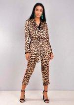 Animal Print Suit Co Ord Multi