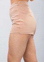 High Waisted Shorts Camel