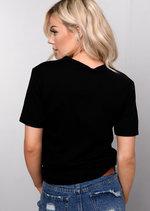 Slogan T-Shirt Black