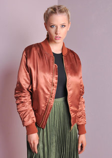 MA-1 Padded Bomber Jacket Copper