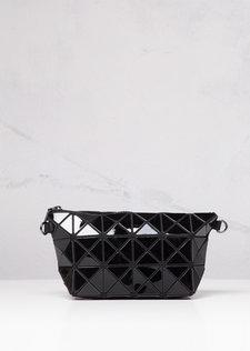 Geometric Triangle Clutch Prism Black