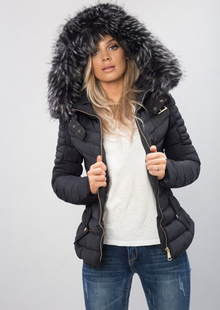 04862923e Women's Fur Hooded Coats | Padded Jackets | Hood Parka Lily Lulu