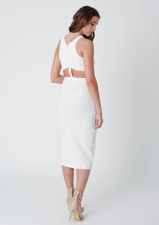 Aida Cut Out Midi Dress