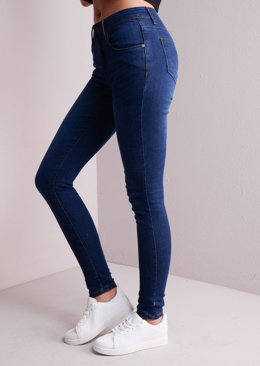 High Waisted Skinny Fit Jeans