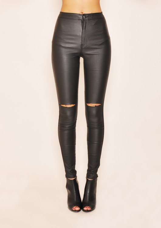 data/2015-/April/Izzy leather look ripped trousers.jpg