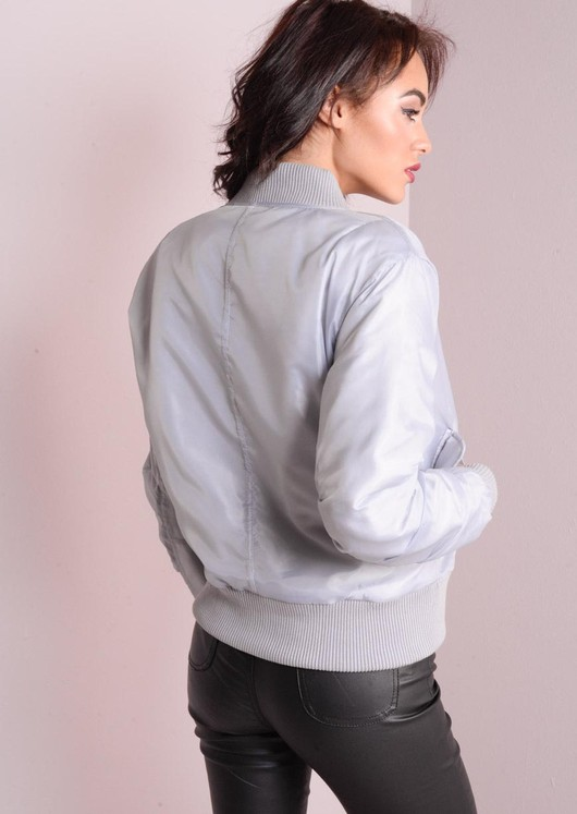 MA-1 Padded Bomber Jacket Ice Blue