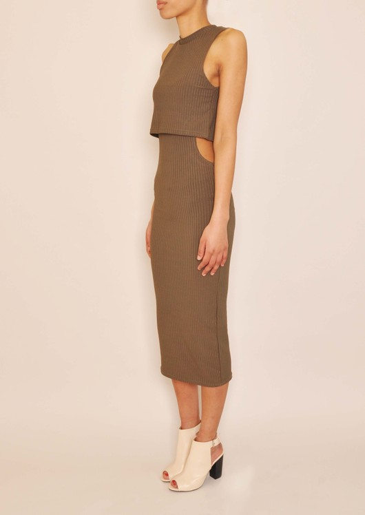 data/2015-/April/Odessa Khaki cut out body con side.jpg