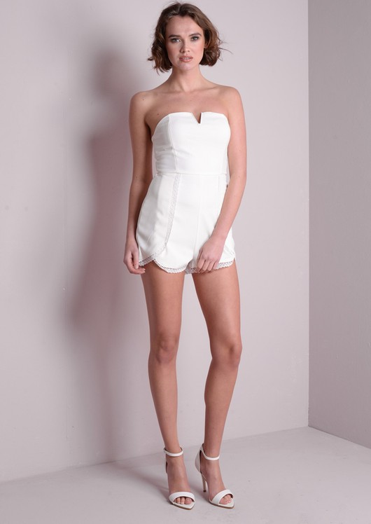Tala Strapless Playsuit