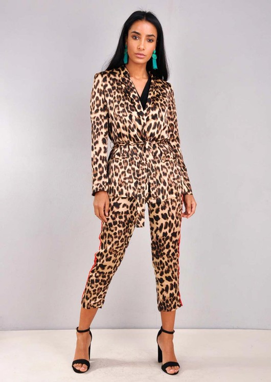 Animal Print Suit Co Ord Multi