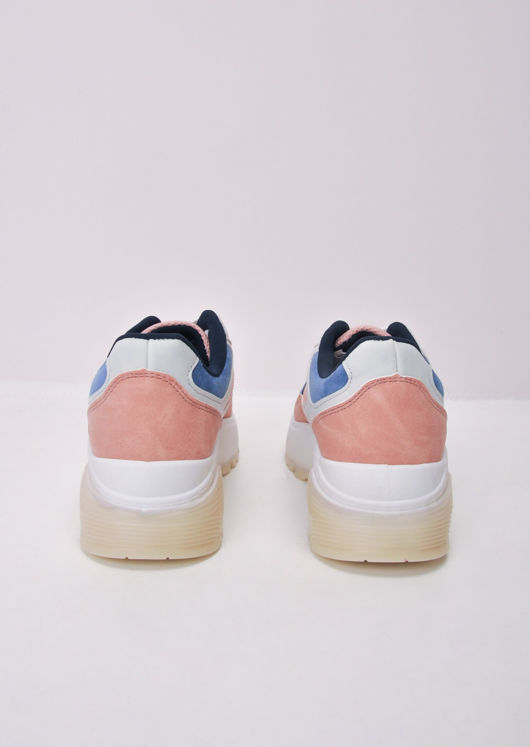 Block Colour Chunky Trainers Pink