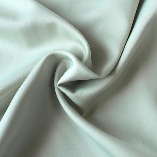 Wrap Over Front Split Silk Midi Skirt Green