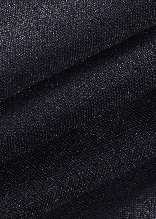 High Waist Elasticated Side Split Legging Pants Black
