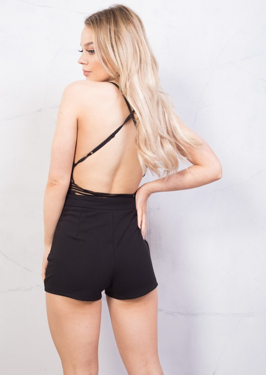 High Waisted Shorts Black