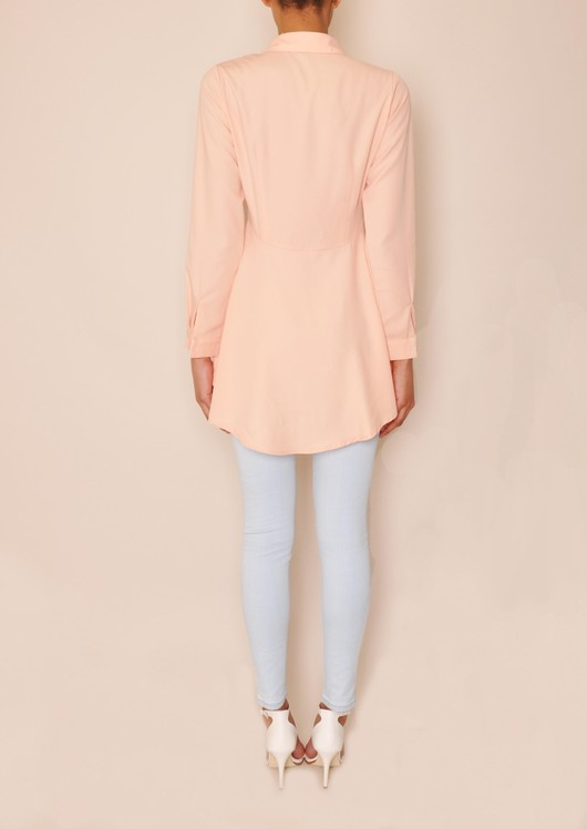 data/2015-/April 2/katie dip hem peplum shirt pink back.jpg