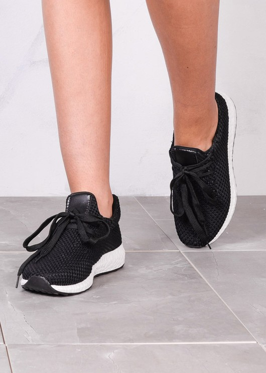 Lightweight Textured Casual Trainers