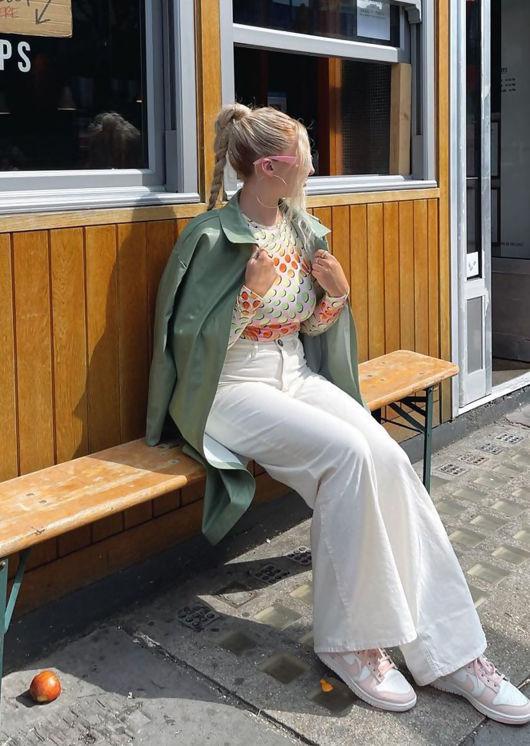 Faux Leather Longline Pu Belted Side Split Shacket Jacket Green