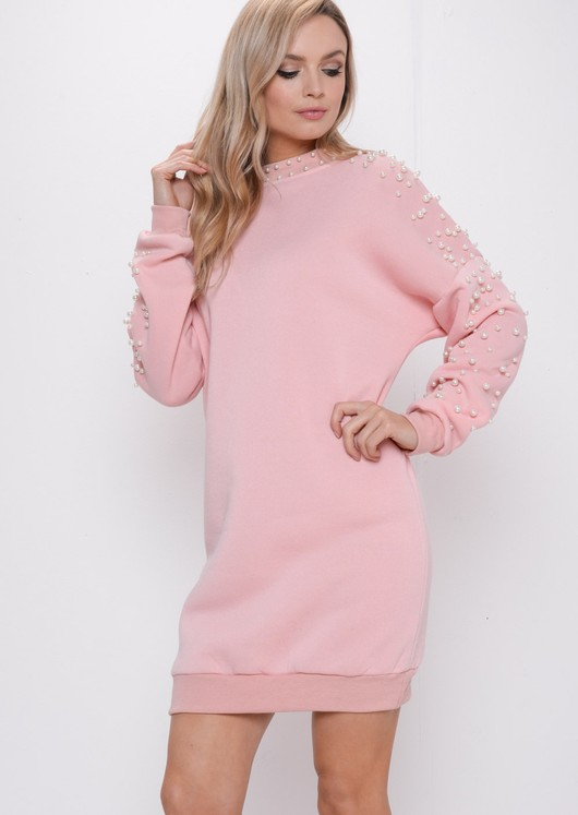8257eb773ab pearl-longline-jumper-dress-pink-marsha-lily-lulu-fahsion-3.jpg