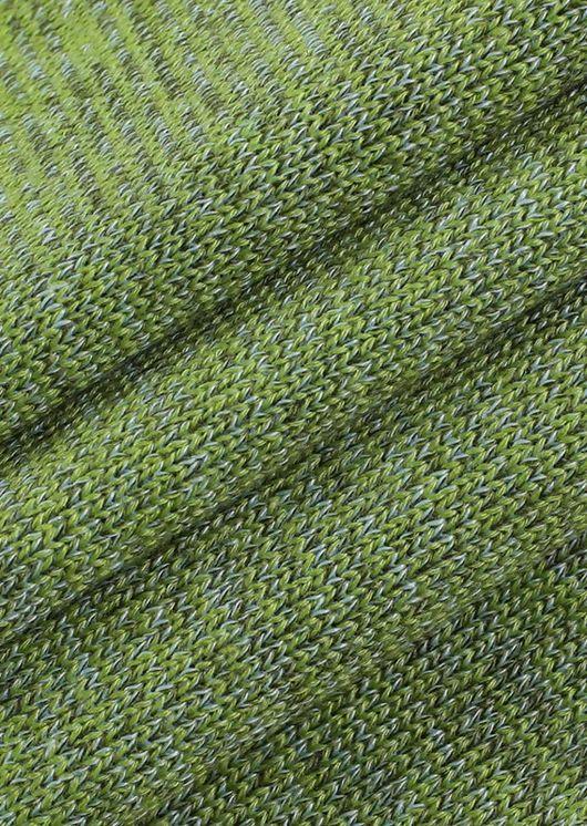 Rib Knit Halterneck Open Back Tie Mini Dress Green