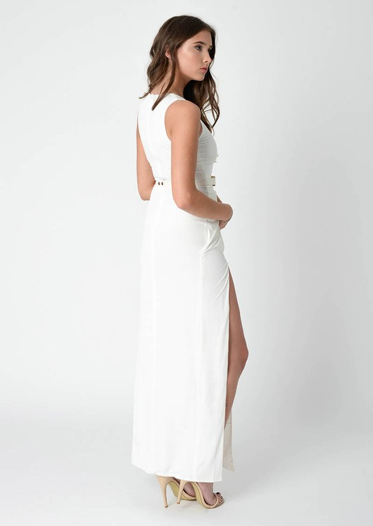 Sonia Double Split Maxi Dress